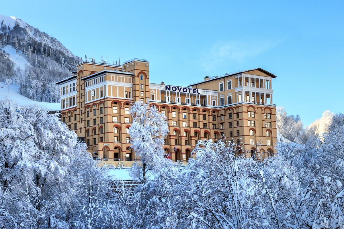 Лучшие отели в Красной Поляне для комфортного отдыха